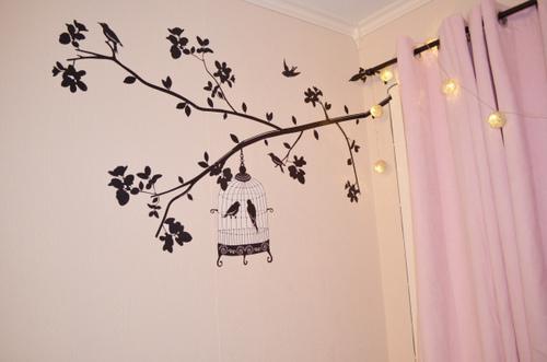 Cute Decor adesivo de parede — Niina Secrets ~ Tumblr Quarto Di Secolo
