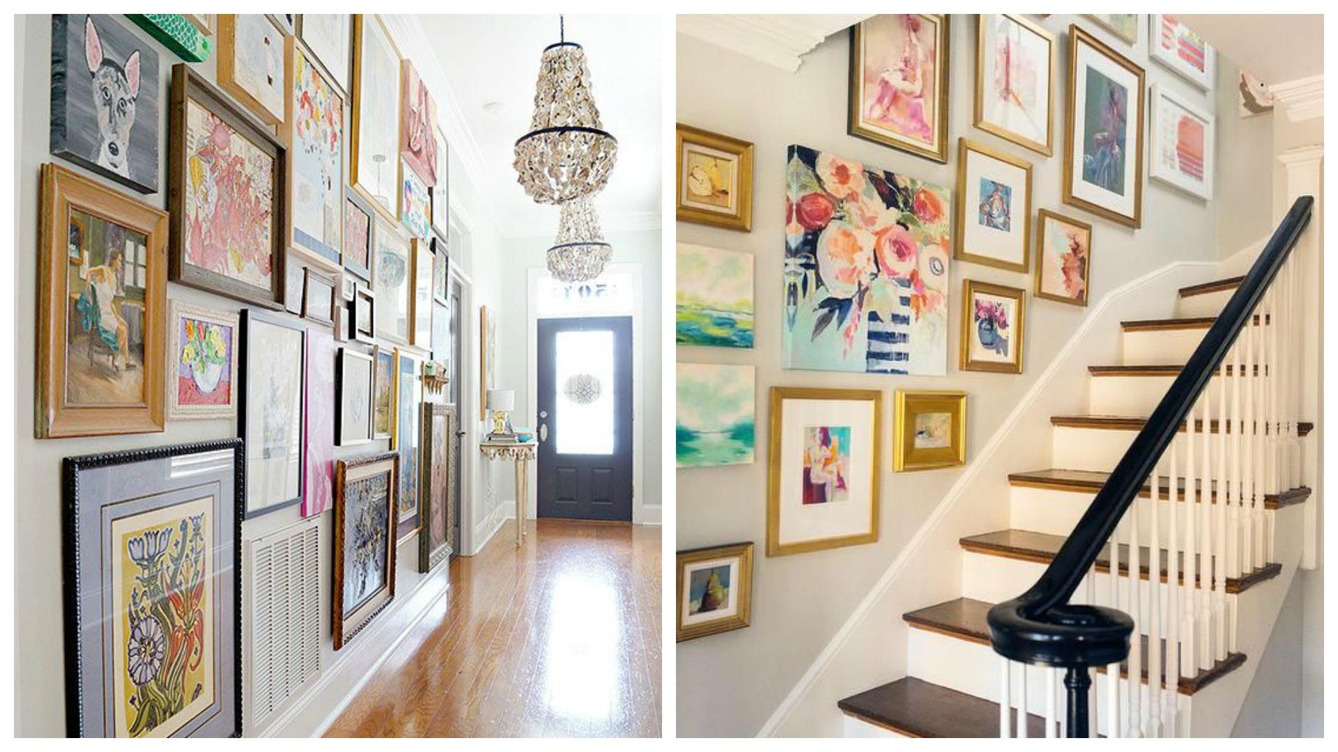 Gallery Wall Niina Secrets -> Parede Galeria Sala