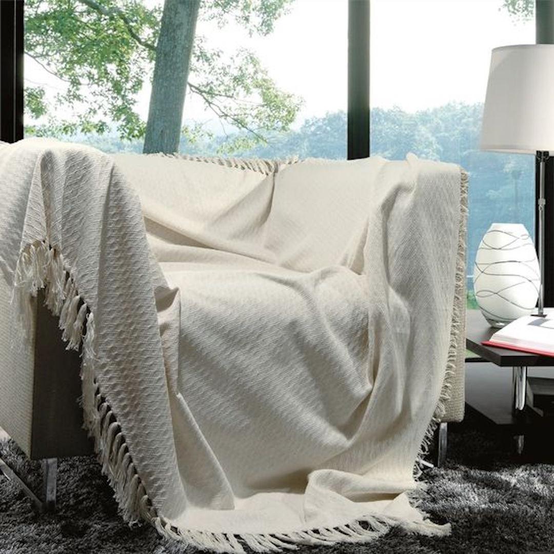 Deixando seu sof mais bonito usando as mantas niina secrets for Manta no sofa como usar